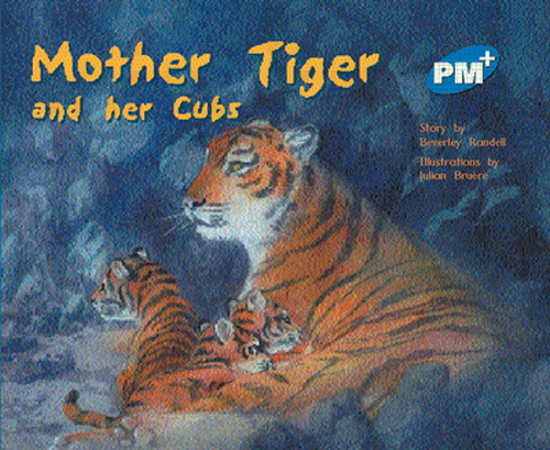 PM Plus Blue Mother Tiger and Her Cubs Lvl 11