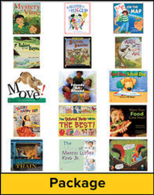 Wonders - Grade 1 | Literature Big Books Package - 9780021195244