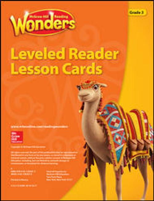Wonders - Grade 3 | Reading Leveled Reader Lesson Cards - 9780021292073