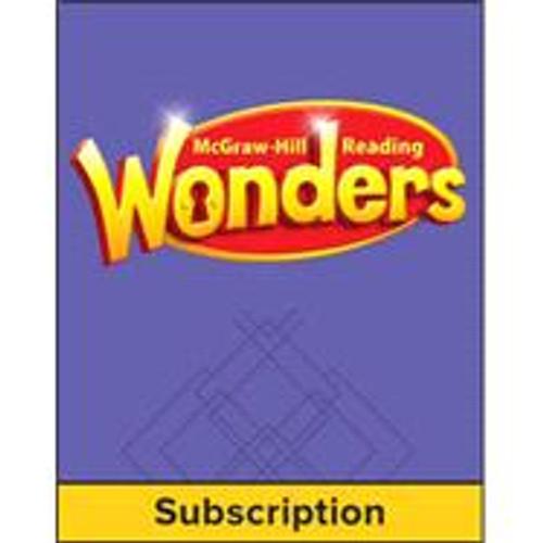 Wonders - Reading Wonders Student Workspace - (Digital Only), 1-year Subscription - Grade 5