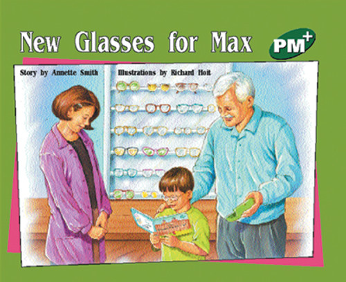 PM Plus Green New Glasses for Max Lvl 13