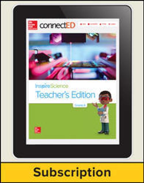 Inspire Science - Inspire Science, Online Teacher Center, 1-year Subscription - Grade 4