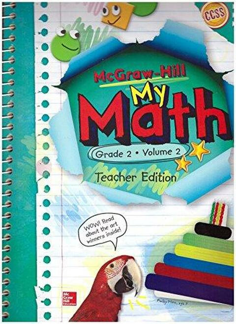 My Math - Teacher Editions (Print Only)-Grade 2 | Volume 2 - 9780021383962
