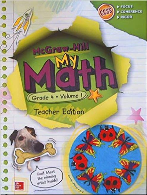 My Math - Teacher Editions (Print Only)-Grade 4   Volume 1 - 9780021383993
