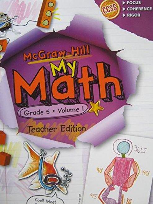 My Math - Teacher Editions (Print Only)-Grade 5 | Volume 1 - 9780021384013