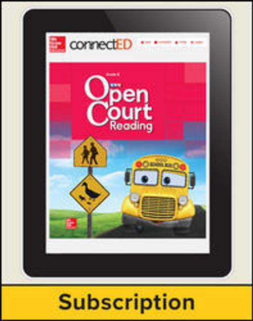 Open Court Reading - Kindergarten Student, 1-year Subscription