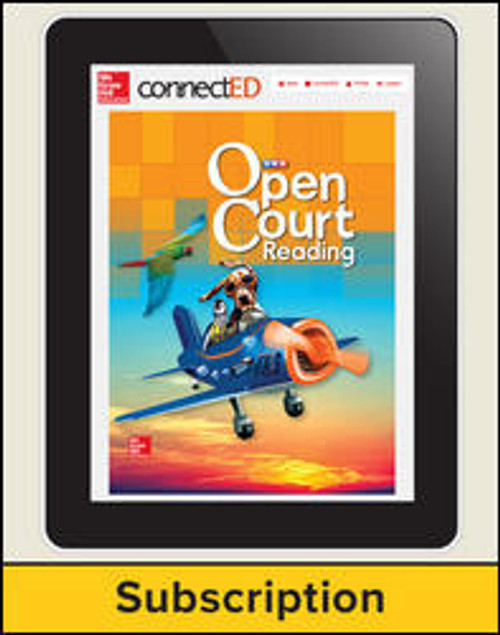 Open Court Reading - Student, 1-year Subscription - Grade 1