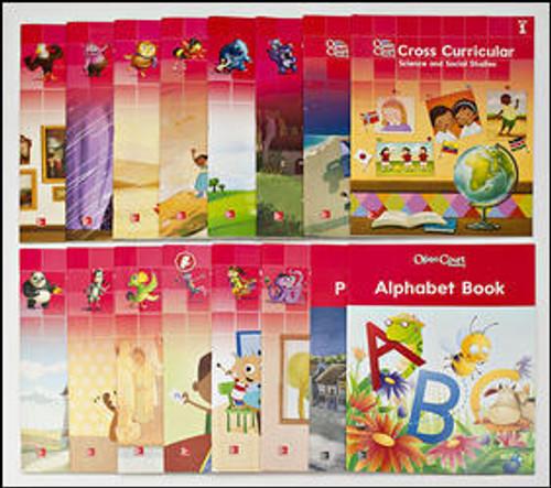 Open Court Reading - Grade K (Teacher Materials) | Big Book Package(16 Big Books) - 9780021444595