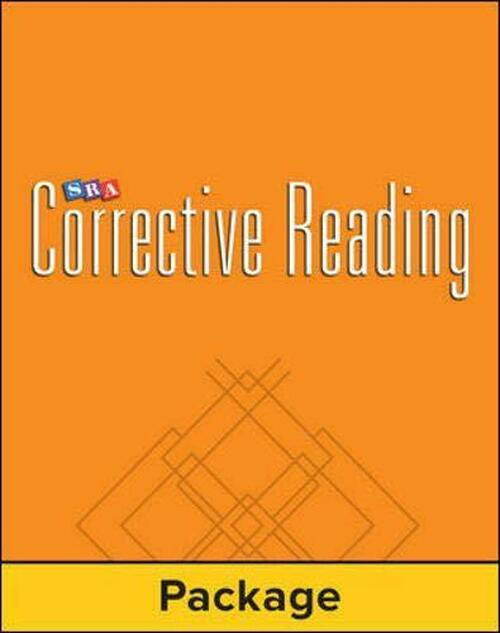 Corrective Reading Decoding - Level A - Red 2.5 | Workbook (Pkg. of 5) - 9780026748230