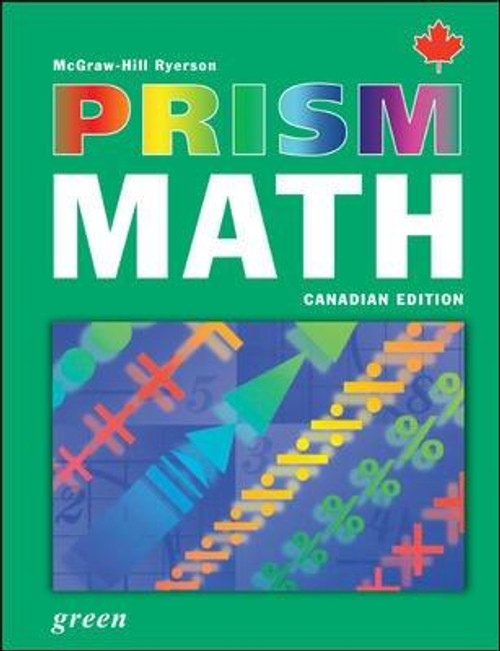 PRISM Math   Student Edition - Level 6, Green - 9780070960213