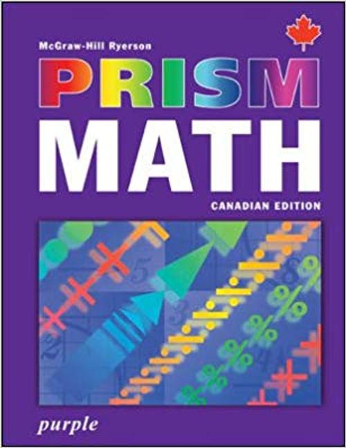 PRISM Math | Student Edition - Level 8, Purple - 9780070960473