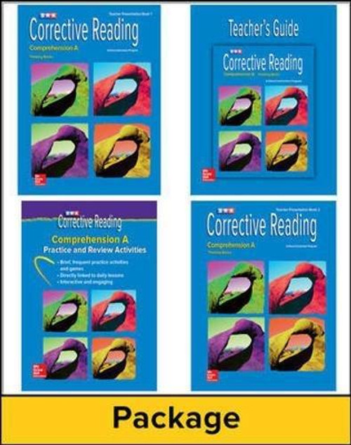 Corrective Reading Comprehension - Level A Thinking Basics | Teacher Materials - 9780076111671