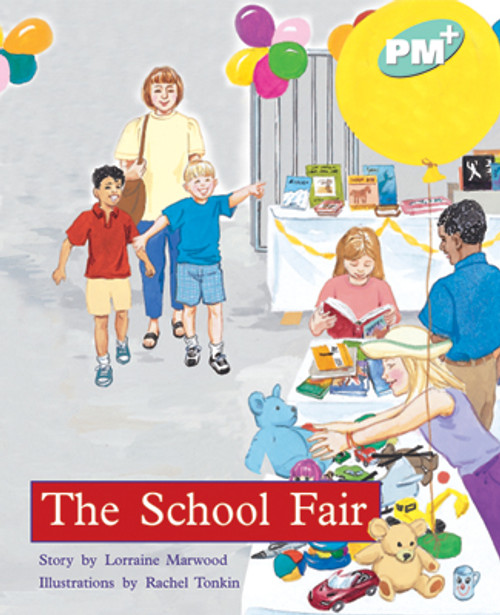 PM Plus Turquoise The School Fair Lvl 18