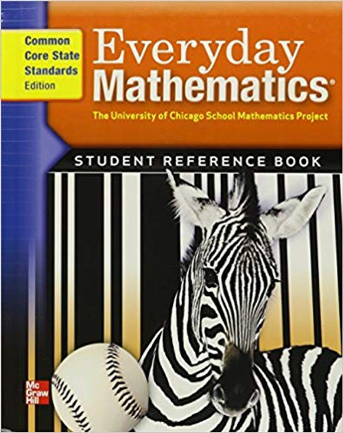 Everyday Mathematics 212 - Grade 3 | Student Material Set (Includes: Journals 1 & 2, Student Reference Book & Pattern Block Template) - 9780076577828