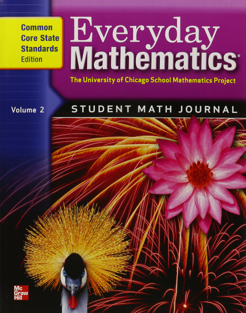 Everyday Mathematics 212 - Grade 4 | Student Material Set (Includes: Journals 1& 2, Student Reference Book & Geometry Template) - 9780076577835