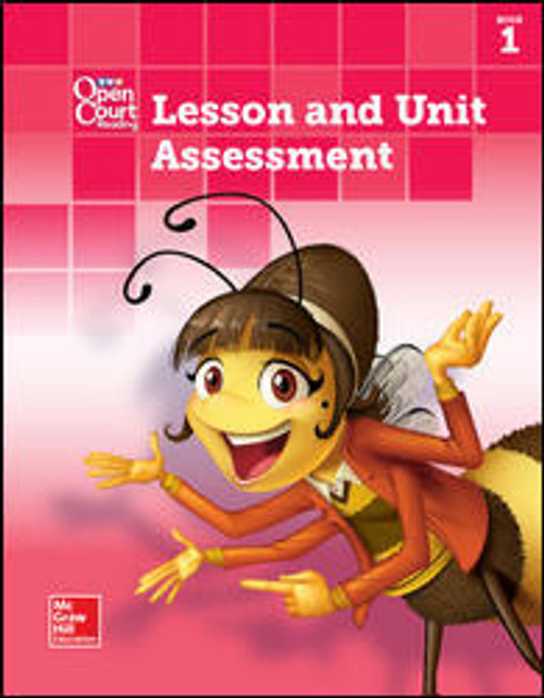 Open Court Reading - Grade K (Student Materials)   Lesson and Unit Assessment, Book 1 - 9780076670222