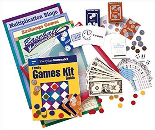 Everyday Mathematics (Grade 3)   Family Games Kit - 9780076735846