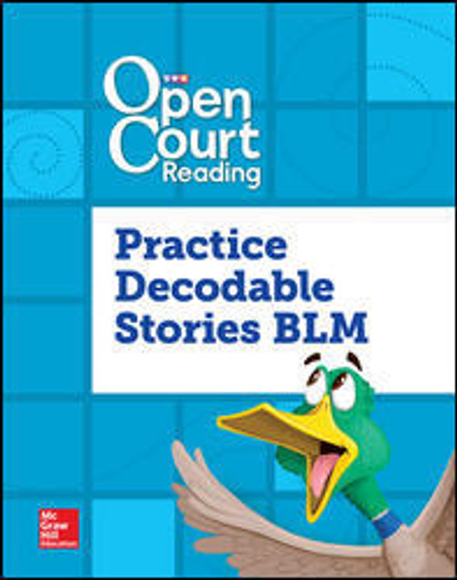 Open Court Reading Foundational Skills Kits - Grade 3 - Decodable Books | Practice Decodable Takehome Stories BLM - 9780076792658