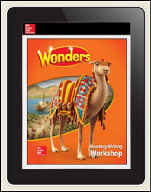 Wonders - Reading Wonders Student Workspace 1-year Subscription - Grade 3