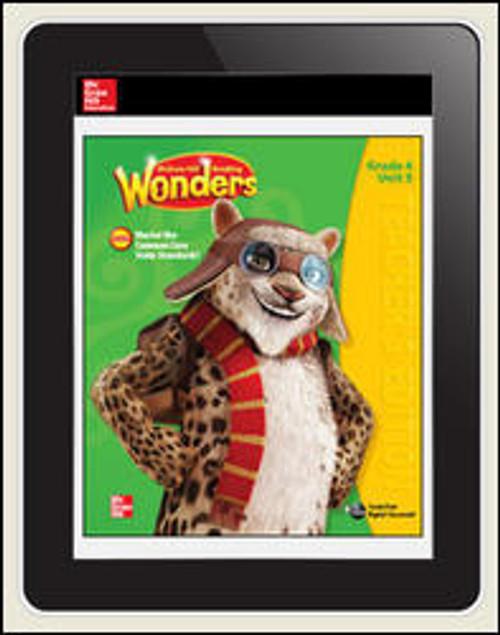 Wonders - Reading Wonders Student Workspace 1-year Subscription - Grade 4