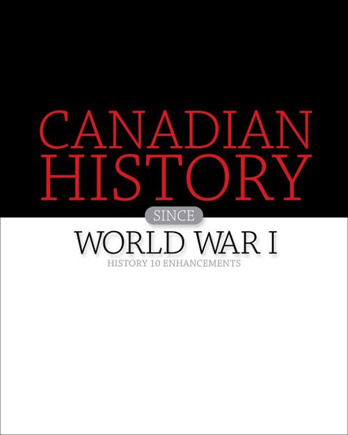 Nelson History 10 Enhancements Teacher Resource