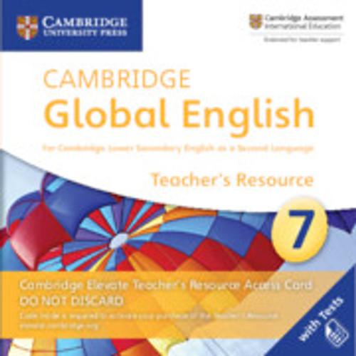 Cambridge Global English - Stage 7 | Elevate Teachers Resource Access Card, Stage 7 - 9781108702782