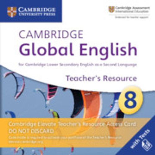 Cambridge Global English - Stage 8 | Elevate Teachers Resource Access Card, Stage 8 - 9781108702805