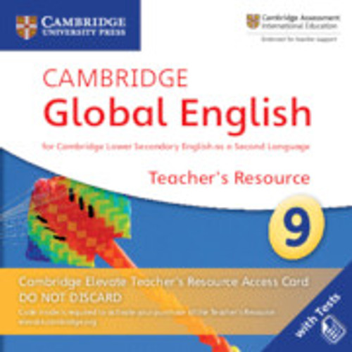 Cambridge Global English - Stage 9   Elevate Teachers Resource Access Card, Stage 9 - 9781108702829
