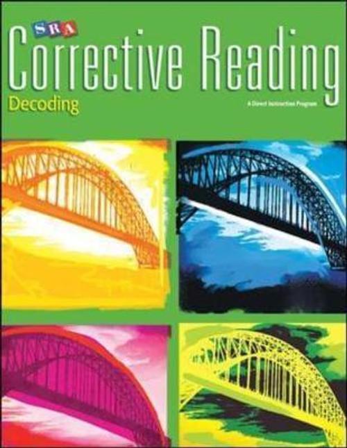 Corrective Reading Decoding - Level B2 (Grades 4 - 5) | Student Book (Hardcover) - 9780076112265