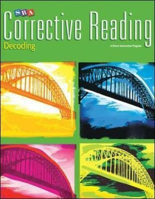 Corrective Reading Decoding - Level C (Grades 5 - 7) | Student Workbook - 9780076112395