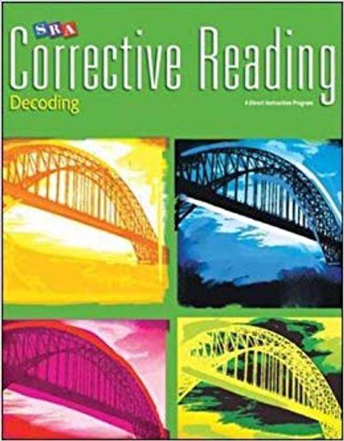 Corrective Reading Decoding - Level C (Grades 5 - 7) | Teacher Materials - 9780076112456