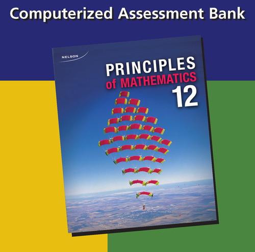 Principles of Mathematics - Grade 12   Assessment Bank - 9780176510558
