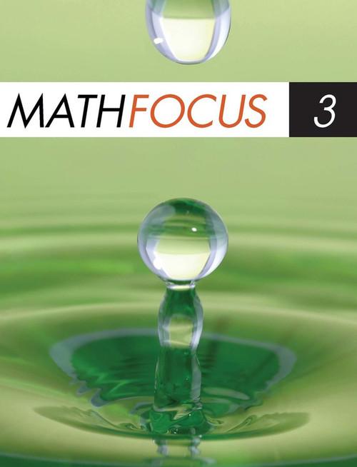 Math Focus 3 (12 Month Online Subscription)