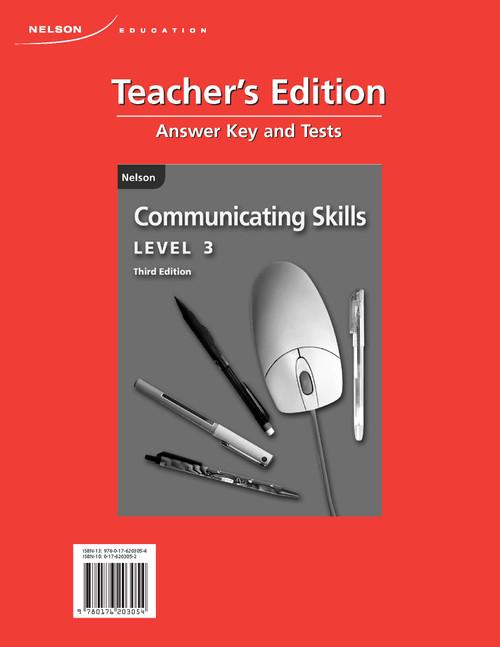 Communicating Skills, Third Edition (Answer Key)