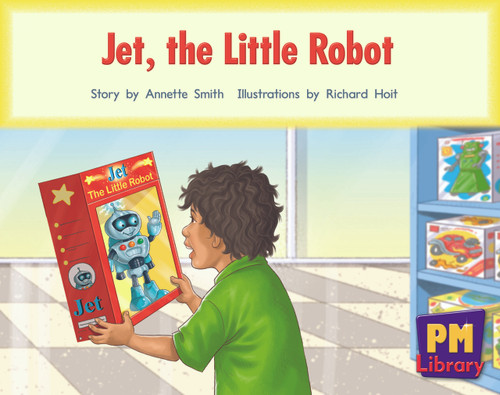 New PM Library Red Jet, the Little Robot Lvl 5