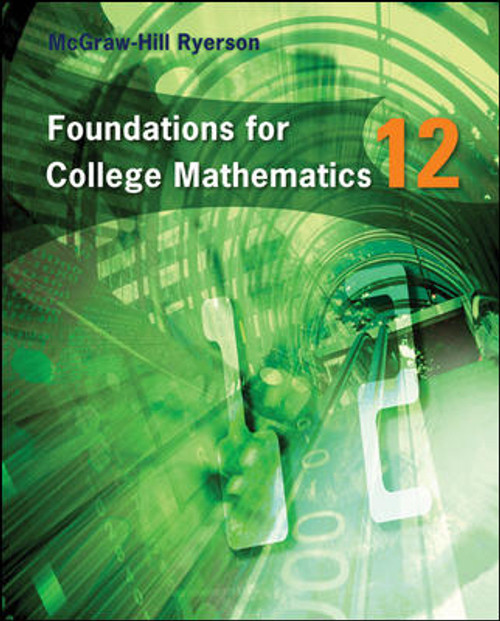 Foundations for College Mathematics 12