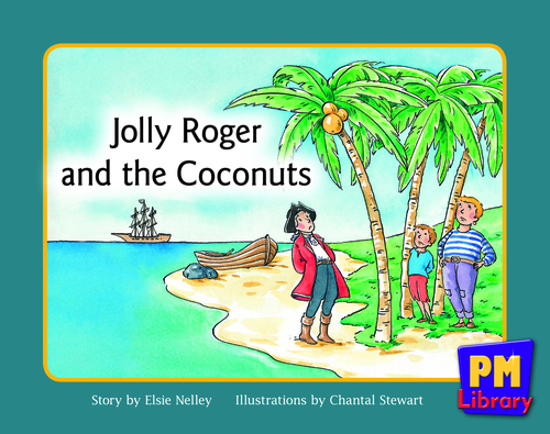 New PM Library Yellow Jolly Roger and the Coconuts Lvl 8