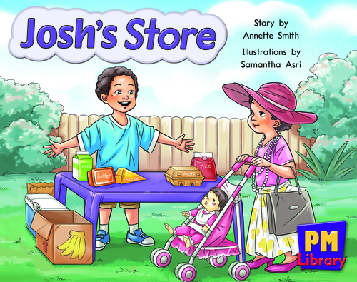 New PM Library Yellow Josh's Store Lvl 6