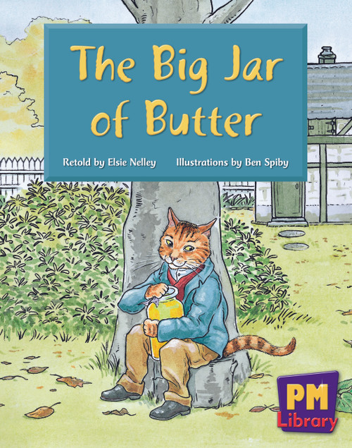 New PM Library Blue The Big Jar of Butter Lvl 11
