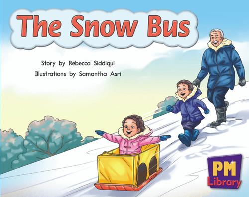 New PM Library Blue The Snow Bus Lvl 10
