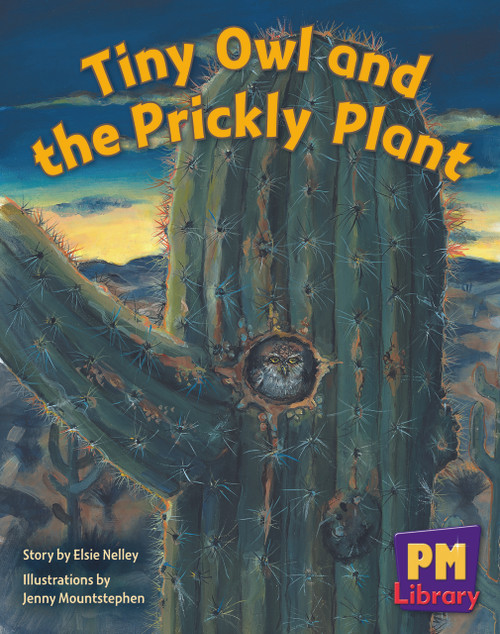 New PM Library Blue Tiny Owl and Prickly Plant Lvl 9