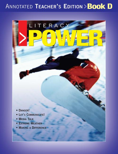 Literacy Power - Teachers Edition