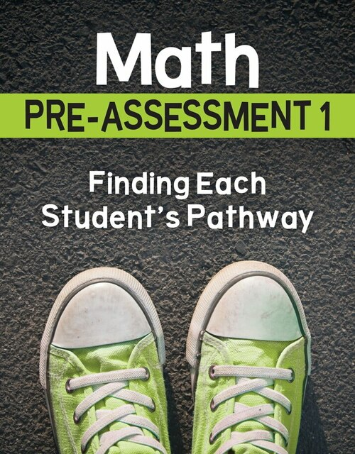 Math Pre-Assessment Complete Series Sets Grade 1