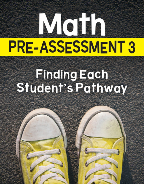 Math Pre-Assessment Complete Series Sets Grade 3