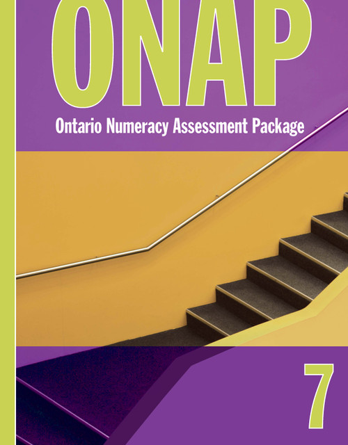 Ontario Numeracy Assessment Package - ONAP - Grade 7