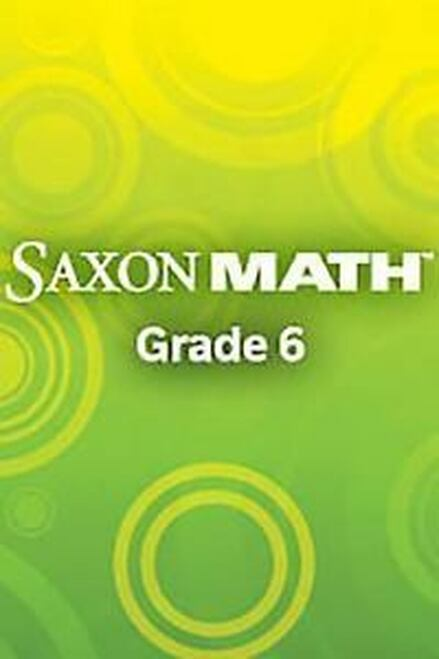 Saxon Math - Course 1 (Grade 6)