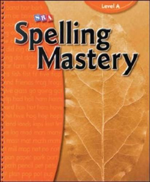 Spelling Mastery - Grade 1 Level A