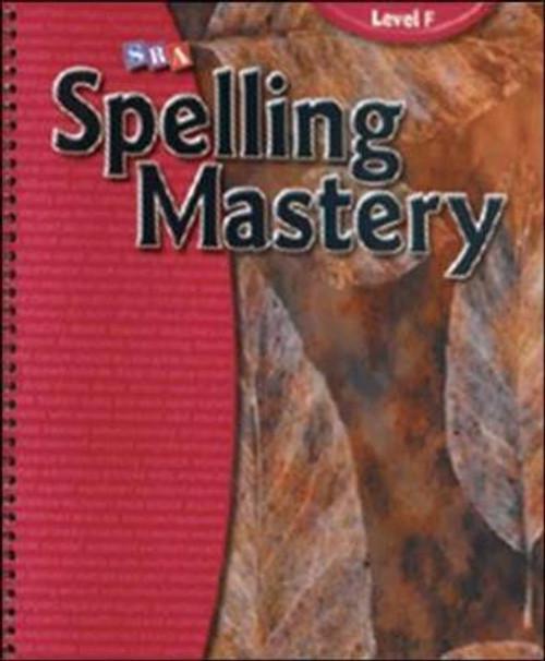 Spelling Mastery - Grade 6 Level F