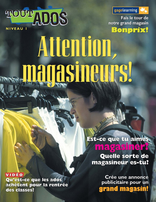 Tout Ados - Attention, magasineurs (Shopping)