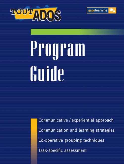 Tout Ados - Level 1 Textbook Option